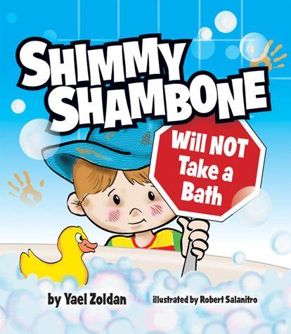 Shimmy Shambone Will NOT Take a Bath