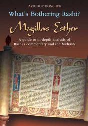 What's Bothering Rashi? Megillas Esther