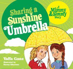Sharing a Sunshine Umbrella