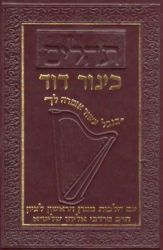 Tehillim Kinor David (Hebrew Only)