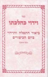 Viduy K'Hilchaso, Nusach Ashkenaz (Hebrew Only)