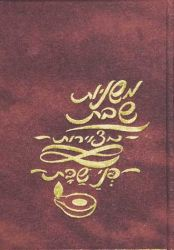 Mishnayos Metzuyaros: P'nei Shabbos (Hebrew Only)