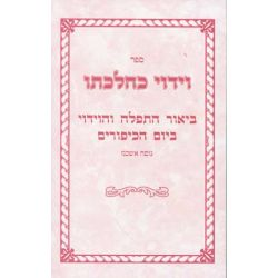 Viduy K'Hilchaso (Hebrew Only)