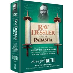 Rav Dessler on the Parasha