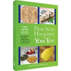 Practical Halachos of Yom Tov