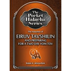 The Pocket Halacha Series: The Halachos of Eiruv Tavshilin and Preparing for a Two Day Yom Tov