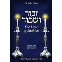 Zachor V'Shamor - Laws of Shabbos Vol. 2