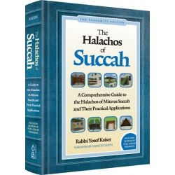 The Halachos of Succah