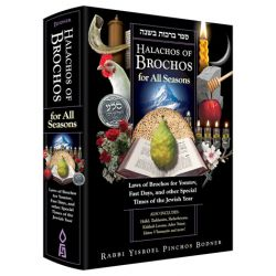 Halachos of Brochos for all Seasons