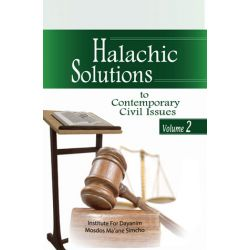 Halachic Solutions to Contemporary Civil Issues